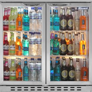 Blizzard Bar Bottle Cooler - BAR 2SS
