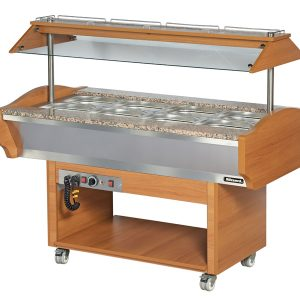 Blizzard Hot Buffet Display - GB3-HOT