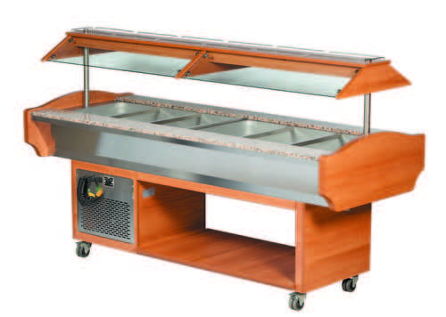 Blizzard Cold Buffet Display - GB6COLD