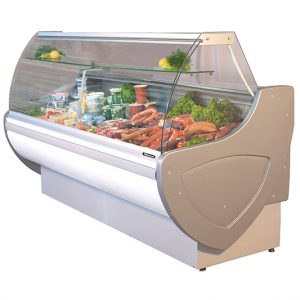 Blizzard Omega Serve Over refrigerated Deli Case - OMEGA100