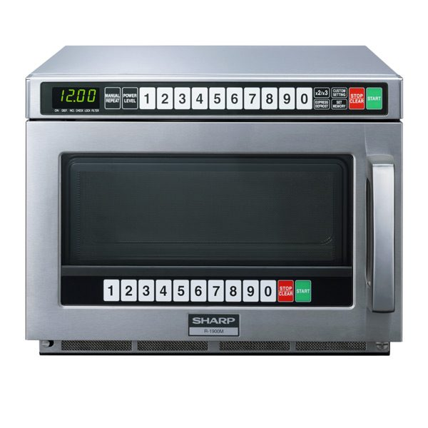 Sharp Commercial Microwave - R1900M